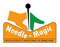 Needle magic Logo design