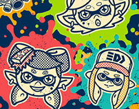 Splatoon T-Shirt Collection