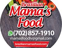 Brazilian Mama's Food Stickers