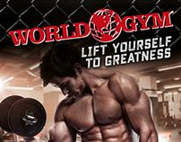 World Gym Graphics