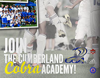 Posters for Cumberland Soccer Academy