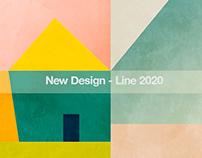 New minimal, geometric & illustrativ Design line 2020
