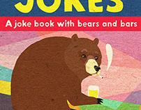 "Book Cover Illustration - ""Bad British Jokes"""