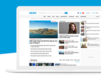 News Portal Homepage Design