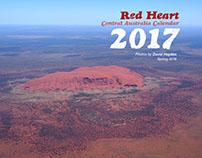 Red Heart Central Australia Calendar