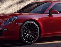 Porsche 911 Carrera | CGI