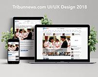 Tribunnews.com UI/UX 2018
