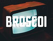 Broscoi Free Typeface