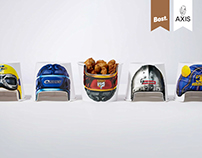 KFC Super Rugby Packaging