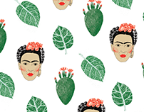 Pattern Frida Kahlo
