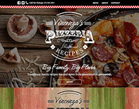 Vincenza's Pizzeria | Branding and Web Design