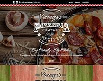 Vincenza's Pizzeria | Branding and Web Design