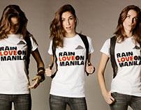 Rain Love on Manila Campaign Design