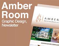 Graphic Design // Amber Room