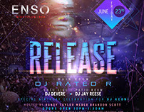 Enos Night Club Flyer