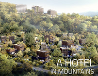 A HOTEL IN MOUNTAINS