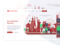 Talkmondo - Global Translation App Landing Page