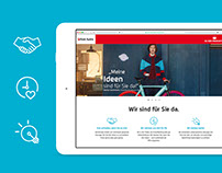 Bank Austria Kampagnenseite