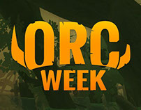"""""""Orc Week"""" campaign for annual Orcs Must Die! sale."""