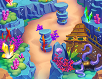 Lil Quest: Under the Sea Map