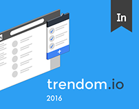 trendom.io extension & landing page