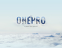 OnePro - Creative Multipurpose PSD Template