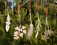Christmas decorations . Ukrainian herbs & Pines