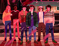 Stranger Things Illustration