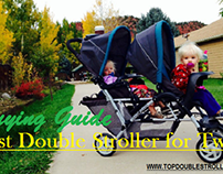 Best Double Stroller for Twins with Buying Guide