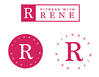 Fitness with Rene Brand Identity
