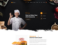 Street Restaurant HTML Template