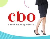 Chief Beauty Officer - Logo & Website Redesign