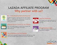 Shop 'Til You Blog - Lazada Affiliate Program materials
