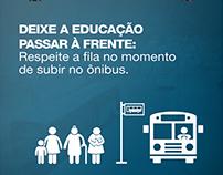 Campanha Educativa Terminais | Prefeitura de Sorocaba
