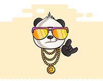 Gao - Panda Stickers