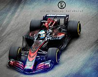 McLaren- Honda 2017 Car Concept