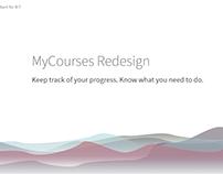 MyCourses Redesign