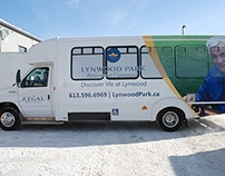 Ford Crestline Vehicle Bus Wrap