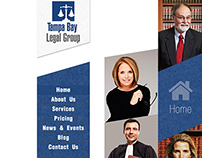 Tampa Bay Legal Group Logo Design