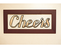 Sign Painting ''Cheers''