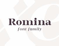 Romina / font family