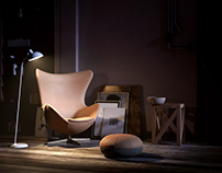Egg Chair by Fritz Hansen