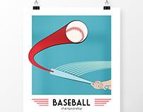 Baseball Poster Design