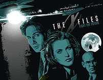 X-FILES -FIGHT THE FUTURE.