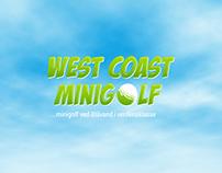 West Coast Minigolf - Visuel identitet