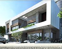 Modern villa exterior design by VAVarchitecture