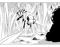 The Extraordinary Honeybee - Storyboards