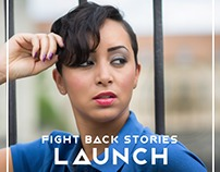 Fight Back Stories Event Brand