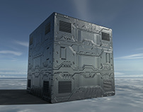 Sci-fi Panel Material