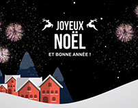 Carte de voeux/Christmas card - Motion design
